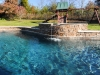 Raised Spa with scupper