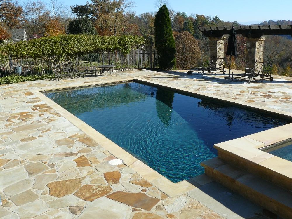 Louisville gunite pools photos gatlinburg for Pool design regrets