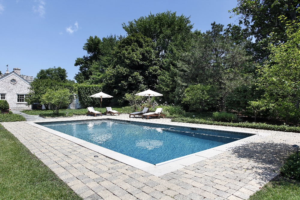 Marvelous Gunite Pool Designs Natural Gunite Pools Geometric Rectangular Swimming  Pool