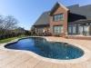free form pool, natural pool design