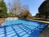 Geometric pool design with sheer descents